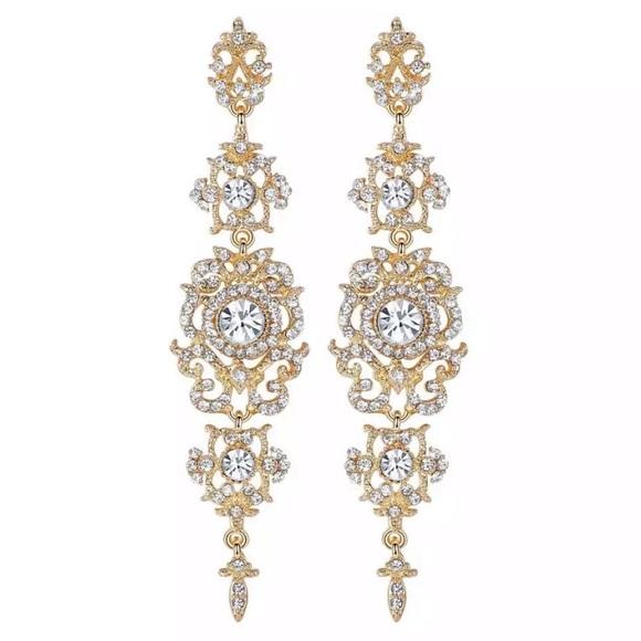 Diamonelle Chandelier Earrings